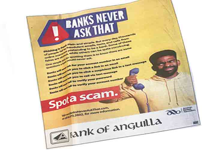 Banks Never Ask That newspaper ad